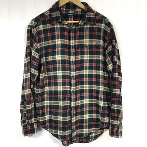 Croft & Barrow Plaid Flannel Size Large